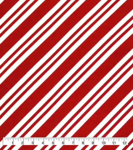 Cotton,Quilt,Fabric,Flannel,Candy,Cane,Stripe,Holidays,Red,White,,quilt backing, dresses, quilt fabric,cotton material,auntie chris quilt,sewing,crafts,quilting,online fabric,sale fabric