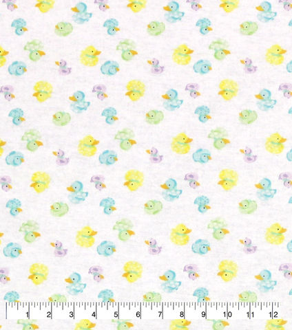 Cotton,Quilt,Fabric,Flannel,Multicolor,Rubber,Ducks,White,,Multi,,quilt backing, dresses, quilt fabric,cotton material,auntie chris quilt,sewing,crafts,quilting,online fabric,sale fabric