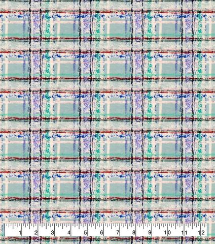 Cotton,Quilt,Fabric,Flannel,Snowy,Mint,Plaid,Blue,Multi,,quilt backing, dresses, quilt fabric,cotton material,auntie chris quilt,sewing,crafts,quilting,online fabric,sale fabric