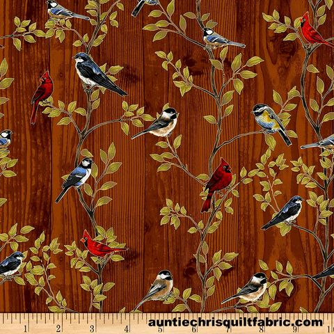 Cotton,Quilt,Fabric,Metallic,Harvest,Homecoming,Mixed,Birds,Bark/,SilverBrown,,quilt backing, dresses, quilt fabric,cotton material,auntie chris quilt,sewing,crafts,quilting,online fabric,sale fabric