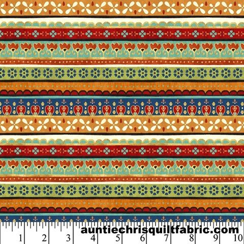 Cotton,Quilt,Fabric,LA,VIDA,LOCA,Floral,Stripes,Multi,Pre,Cut,Yards,,quilt backing, dresses, quilt fabric,cotton material,auntie chris quilt,sewing,crafts,quilting,online fabric,sale fabric