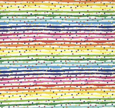 Cotton,Quilt,Fabric,Flannel,Stripe,Dot,Rainbow,White,Multi,,quilt backing, dresses, quilt fabric,cotton material,auntie chris quilt,sewing,crafts,quilting,online fabric,sale fabric