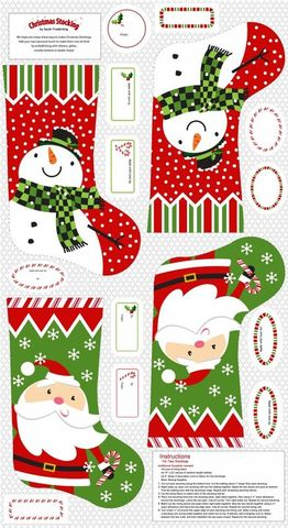 Good,Buy,Cut,Short,STUDIO,E,A,CHRISTMAS,WISH,24,STOCKING,Panel,,quilt backing, dresses, quilt fabric,cotton material,auntie chris quilt,sewing,crafts,quilting,online fabric,sale fabric