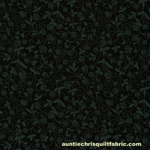 Cotton,Quilt,Fabric,New,Tone,on,Black,Flowers,,quilt backing, dresses, quilt fabric,cotton material,auntie chris quilt,sewing,crafts,quilting,online fabric,sale fabric