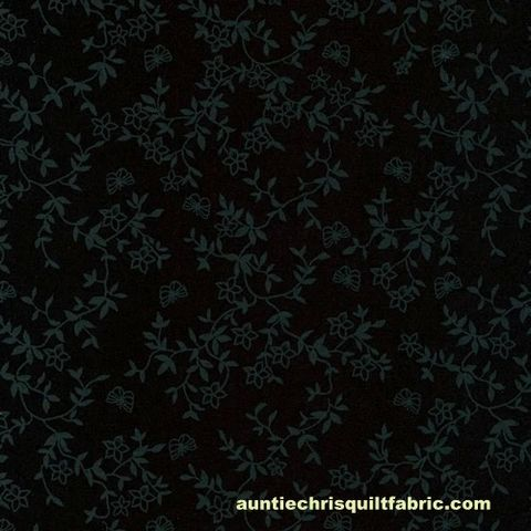 Cotton,Quilt,Fabric,New,Tone,on,Black,Flowers,Butterflies,,quilt backing, dresses, quilt fabric,cotton material,auntie chris quilt,sewing,crafts,quilting,online fabric,sale fabric