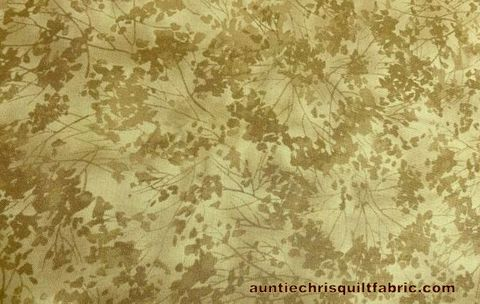 Cotton,Quilt,Fabric,Birch,Song,Tonal,Floral,Tan,Chong,A,Hwang,,quilt backing, dresses, quilt fabric,cotton material,auntie chris quilt,sewing,crafts,quilting,online fabric,sale fabric