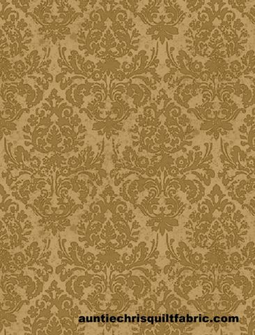 Cotton,Quilt,Fabric,Words,to,Live,By,Floral,Damask,Tan/Brown,Tonal,,quilt backing, dresses, quilt fabric,cotton material,auntie chris quilt,sewing,crafts,quilting,online fabric,sale fabric