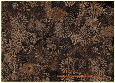 Cotton,Quilt,Fabric,Floral,Forest,Brown,Tan,Swirl,Tonal,,quilt backing, dresses, quilt fabric,cotton material,auntie chris quilt,sewing,crafts,quilting,online fabric,sale fabric
