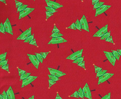 Cotton,Quilt,Fabric,Christmas,Traditional,Scattered,Trees,Red,,quilt backing, dresses, quilt fabric,cotton material,auntie chris quilt,sewing,crafts,quilting,online fabric,sale fabric