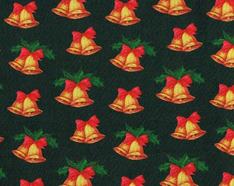 Cotton,Quilt,Fabric,Christmas,Traditional,Bells,And,Bows,Green,,quilt backing, dresses, quilt fabric,cotton material,auntie chris quilt,sewing,crafts,quilting,online fabric,sale fabric