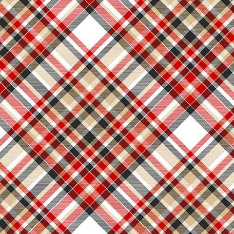 Cotton,Quilt,Fabric,2,Ply,Flannel,Henry,Glass,Gnomies,Bias,Plaid,,quilt backing, dresses, quilt fabric,cotton material,auntie chris quilt,sewing,crafts,quilting,online fabric,sale fabric