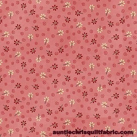 Cotton,Quilt,Fabric,My,Red,Wagon,Spring,Floral,Pink,,quilt backing, dresses, quilt fabric,cotton material,auntie chris quilt,sewing,crafts,quilting,online fabric,sale fabric