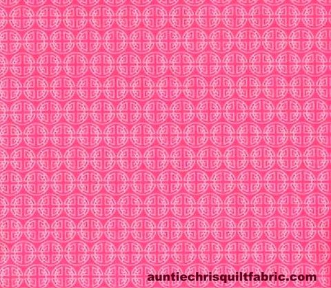 Cotton,Quilt,Fabric,Chinese,Coins,Asian,Pink,quilt fabric,cotton material,auntie chris quilt,sewing,crafts,quilting,online fabric,sale fabric,fat quarters