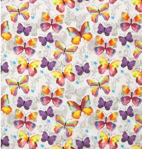Cotton,Quilt,Fabric,Flannel,Paisley,Watercolor,Butterflies,Multi,,quilt backing, dresses, quilt fabric,cotton material,auntie chris quilt,sewing,crafts,quilting,online fabric,sale fabric