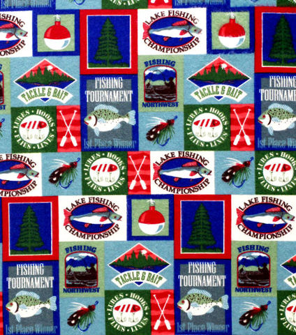 Cotton,Quilt,Fabric,Flannel,Fishing,Patch,Fish,Sportsmen,,quilt backing, dresses, quilt fabric,cotton material,auntie chris quilt,sewing,crafts,quilting,online fabric,sale fabric