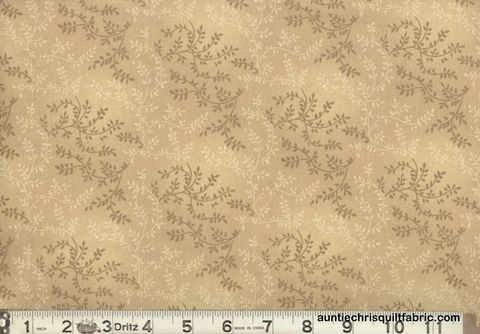 Cotton,Quilt,Fabric,Tonal,Vineyard,Vines,Leaves,Tone,On,Lt,Brown,,quilt backing, dresses, quilt fabric,cotton material,auntie chris quilt,sewing,crafts,quilting,online fabric,sale fabric