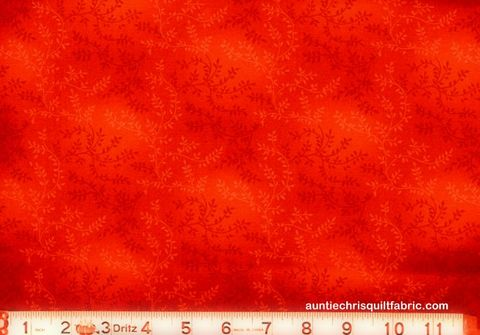 Cotton,Quilt,Fabric,Tonal,Vineyard,Vines,Leaves,Tone,On,orange,,quilt backing, dresses, quilt fabric,cotton material,auntie chris quilt,sewing,crafts,quilting,online fabric,sale fabric