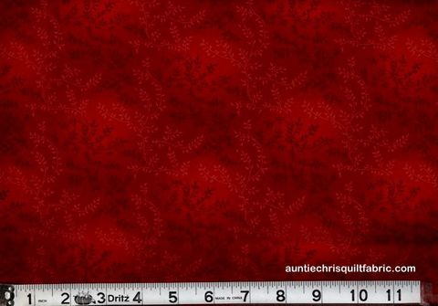 Cotton,Quilt,Fabric,Tonal,Vineyard,Vines,Leaves,Tone,On,Dark,Red,,quilt backing, dresses, quilt fabric,cotton material,auntie chris quilt,sewing,crafts,quilting,online fabric,sale fabric
