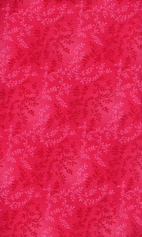 Cotton Quilt Fabric Tonal Vineyard Vines Leaves Tone On Tone Hot Pink - product images  of