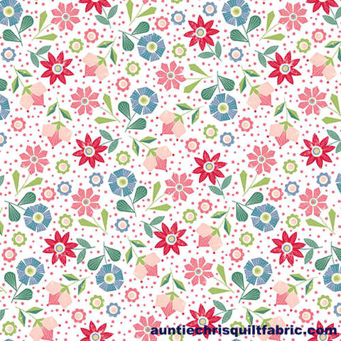 Cotton,Quilt,Fabric,Fancy,Cats,Tossed,Flowers,Multi,Floral,,quilt backing, dresses, quilt fabric,cotton material,auntie chris quilt,sewing,crafts,quilting,online fabric,sale fabric
