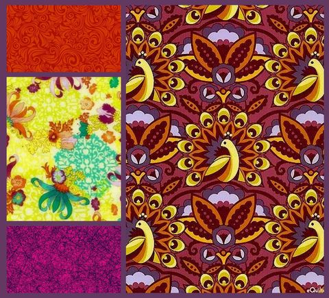 Quick,Cuts,Cotton,Quilt,Fabric,Feathers,N,Fancy,Peacock,2,Yard,Medley,,quilt backing, dresses, quilt fabric,cotton material,auntie chris quilt,sewing,crafts,quilting,online fabric,sale fabric