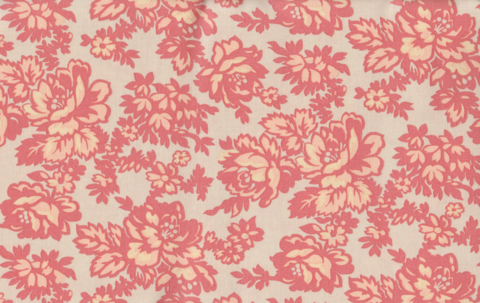 Cotton,Quilt,Fabric,Boundless,Posy,Meadow,Coral,Damask,,quilt backing, dresses, quilt fabric,cotton material,auntie chris quilt,sewing,crafts,quilting,online fabric,sale fabric