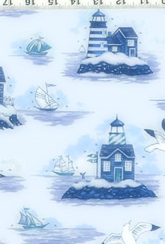 Cotton,Quilt,Fabric,Safe,Harbor,Nautical,Toile,Blue,And,White,quilt fabric,cotton material,auntie chris quilt,sewing,crafts,quilting,online fabric,sale fabric