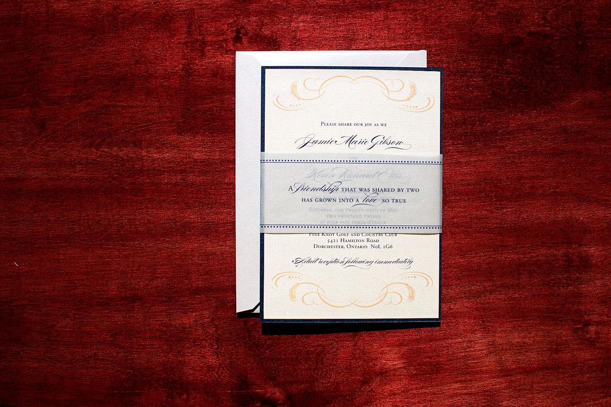 Chicago - Wedding Invitation Sample - Tulaloo