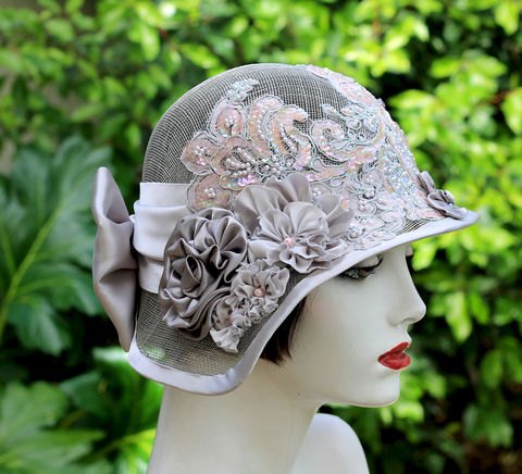 20's,Sinamay,Wide,Brim,Summer,Wedding,Tea,Party,Hat,hat, glitzy hats, glamorus hats, glam hat, vintage style hat, wedding hat, gala event hat, sinamay hat,formal hats,20s hats