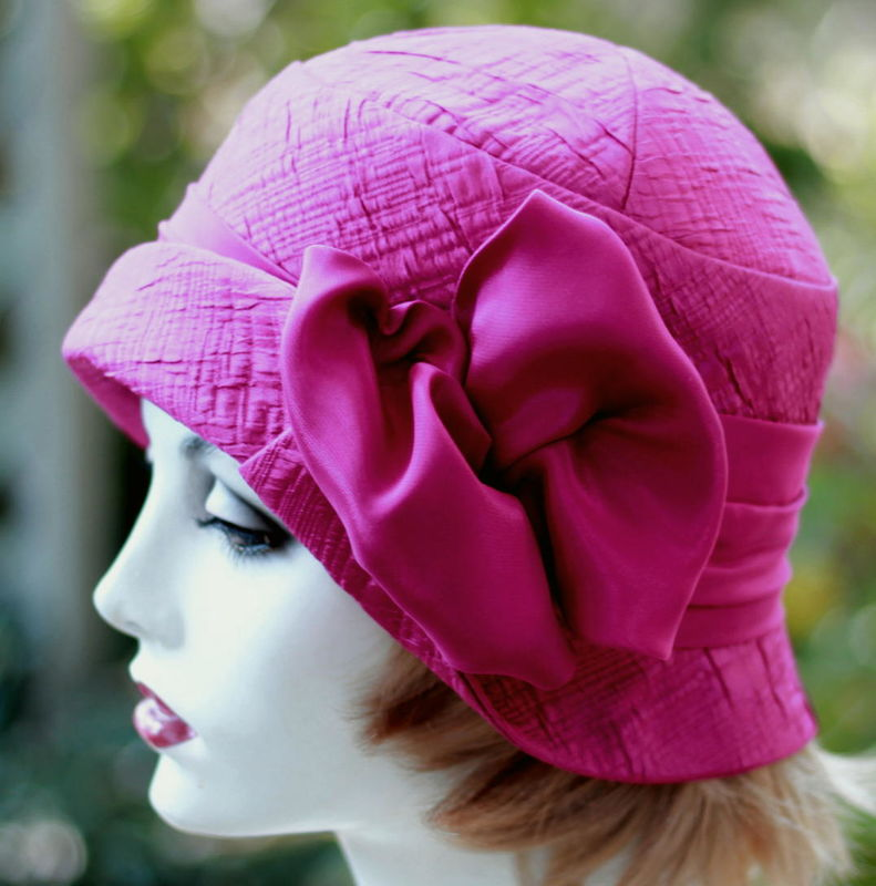 20's Cloche Dressy Hat Weddings, Gala Event, Mother of the Bride - product image