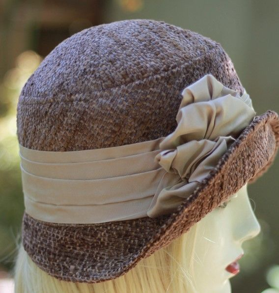 Chemo Hat in 20s Style Fall Winter Warm Fabric - product image