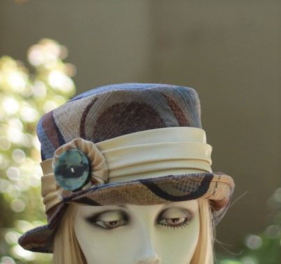 Edwardian Steampunk Boho Ridding Bucket Hat  - product image