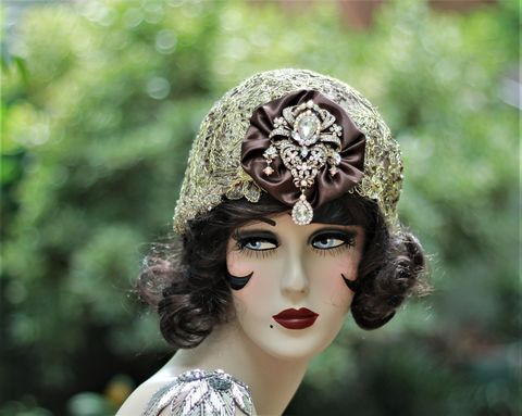20s,Flapper,,Great,Gatsby,,Fancy,New,Years,Hat,flapper party hat,great gatsby party hat,new years party hat,20s party hat