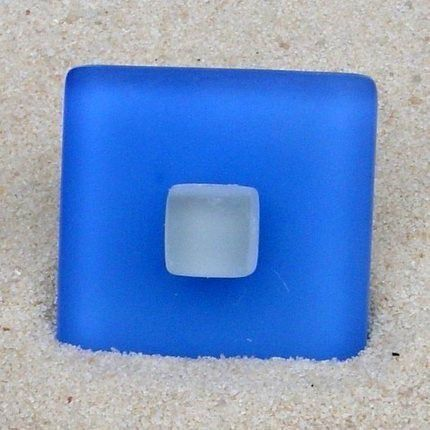 Seaglass Drawer Pull Cabinet Knob Beach Glass $11.75 - product images  of