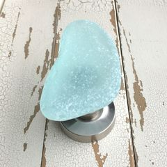 Sea Glass Recycled Stone Beach Coat Towel Wall Hook Large - product images  of