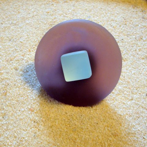 Round,Beach,Glass,Cabinet,Knob,Drawer,Pull,$13.75,tile,cabinet hardware,beach beachy tile beachglass seaglass kitchen home decor frosted coastal shore bath sea ocean house