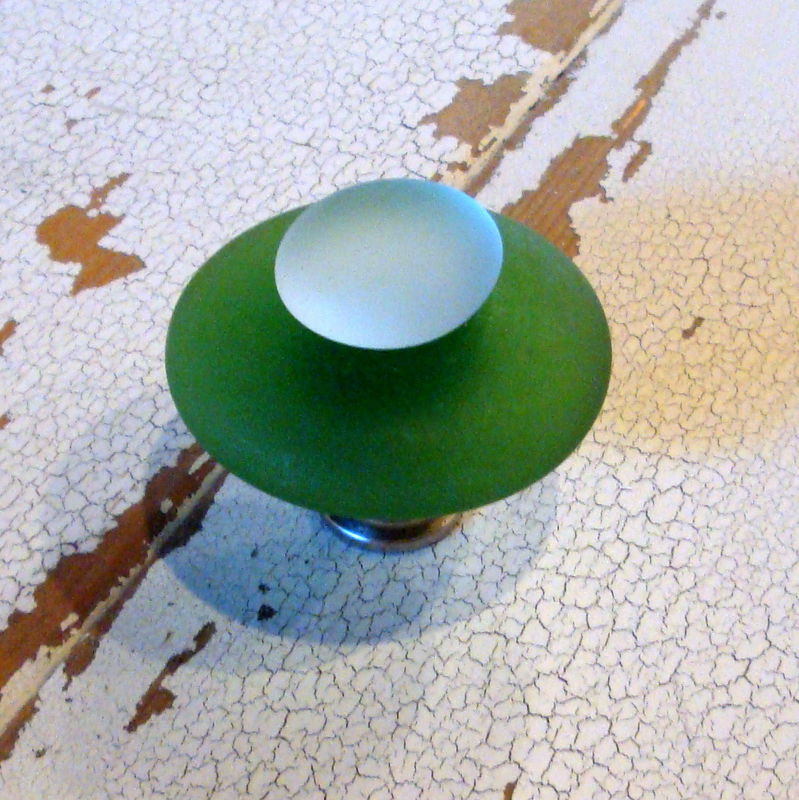 Beach Glass Cabinet Knob Drawer Pull $14 - product images  of