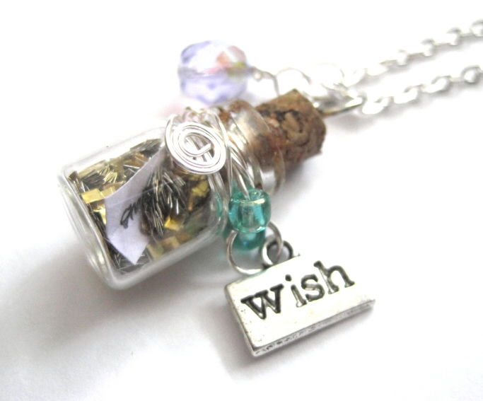 Magic Wish Bottle Necklace - product images  of
