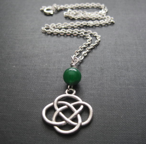 Celtic Love Knot Necklace - product images  of