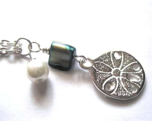 Sand Dollar Beach Necklace - product images  of