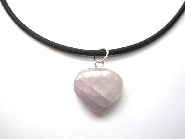 Gemstone Heart Choker Necklace - product images  of