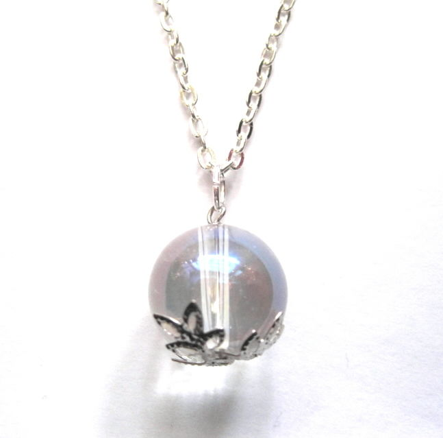 Crystal Ball Necklace - product images  of