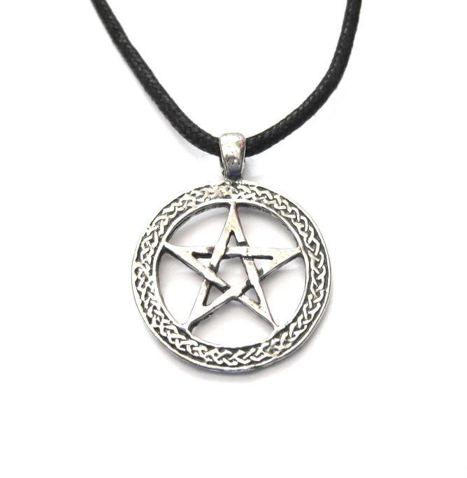 Pentacle Cord Necklace - product images  of