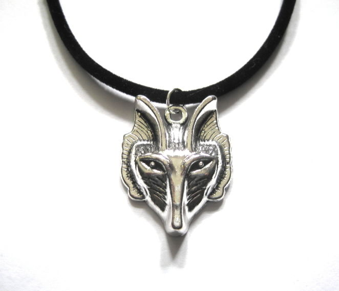 Wolf Choker Necklace - product images  of
