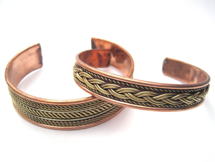 Celtic Copper Cuff Bracelet - product images  of