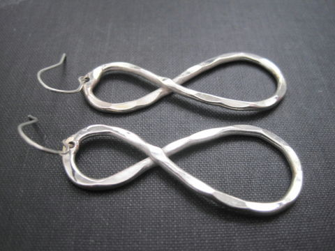 Infinity,Symbol,Dangle,Earrings,Infinity Symbol Dangle Earrings, eternity earrings