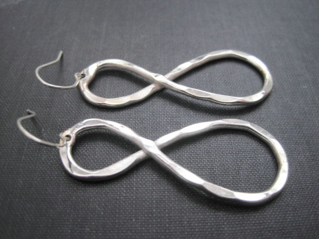 Infinity Symbol Dangle Earrings - product images  of