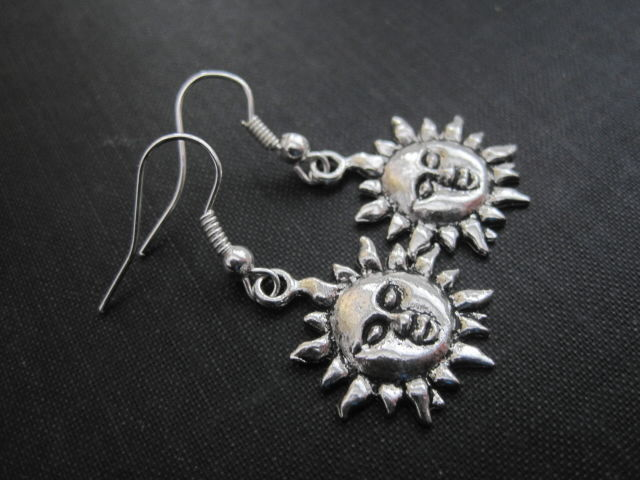 Sun Dangle Earrings - product images  of
