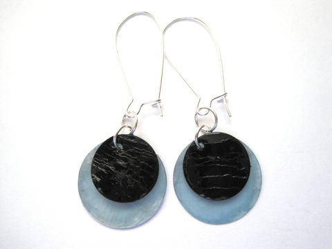 Lunar,Eclipse,Dangle,Earrings,,Blue,Moon,Earrings,Lunar Eclipse, Moon Dangle Earrings, Blue Moon, Eclipse Earrings