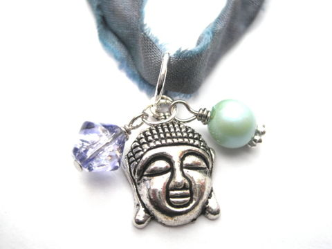 Buddha,Head,Multi,Wrap,Bracelet,Necklace,Buddha Head Multi Wrap Bracelet Necklace